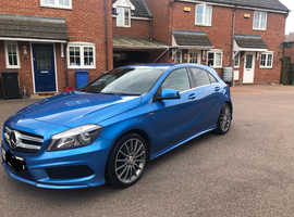 Mercedes A-CLASS, 2013 (63) Blue Hatchback, Manual Diesel, 600 miles