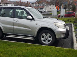 Toyota Rav4, 2005 (05) Silver Estate, Manual Diesel, 130,000 miles