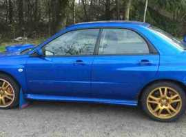 Subaru Impreza, 2003 (03) Blue Saloon, Manual Petrol, 65,000 miles