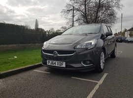 Vauxhall Corsa, 2015 (64) Grey Hatchback, Automatic Petrol, 53,500 miles