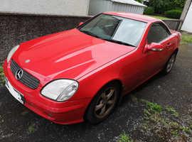 Mercedes Slk, 2000 (X) Red Convertible, Automatic Petrol, 115,807 miles