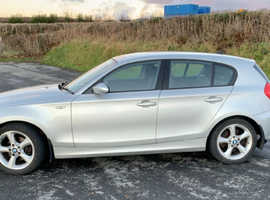 BMW 118d, 2008 (58) Silver Hatchback, Manual Diesel, 92,000 miles
