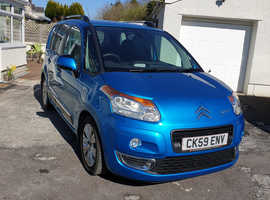 21,500 Miles Citroen C3 Picasso EXCLUSIVE HDi 1.6tdi, 21k, 1 Owner, New MOT & Service with History, Climate, Cruise