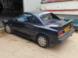 Toyota Mr2, 1989 (G) Blue Sports, Manual Petrol, 156,094 miles