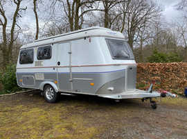 Eriba Troll 530 GT fixed bed caravan 2007