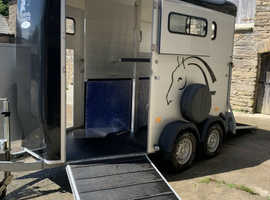 2019 Cheval Liberte  Touring Country Trailer with tack area.