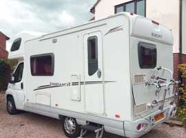 Swift Sundance 590RS 2.2 5 berth Manual 5 speed gear box, diesel