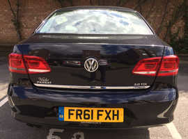Volkswagen Passat, 2012 (61) Black Saloon, Semi auto Diesel, 55,000 miles