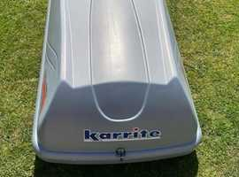 Halfords Karrite Roof Box - Excellent condition