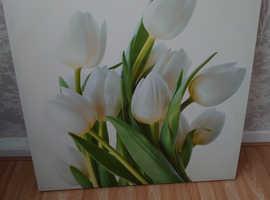 Big flower frame