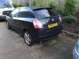 Fiat Stilo, 2006 (56) Black Hatchback, Manual Diesel, 137,000 miles