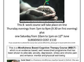 Mindfulness Based Cognitive Therapy Course (MBCT)