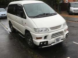 Mitsubishi DELICA SPACE GEAR AUTO, 2000 (X) White MPV, Automatic Petrol, 79,838 miles