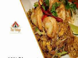 10% Discount On Collection Orders   Thai Vintage Restaurant