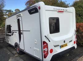 Immaculate Coachman caravan