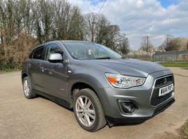 Mitsubishi Asx, 2014 (14) Grey Hatchback, Manual Petrol, 90,338 miles