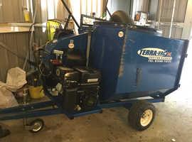 Terra Vac paddock sweeper/ manure collector