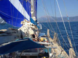 66ft steel yacht in greece for sale ,barter or P/X