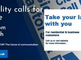 Own a 0330 or local number free with our plans