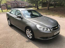 Chevrolet Epica, 2009 (09) Grey Saloon, Manual Diesel, 131,500 miles