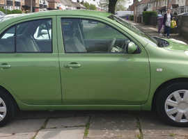 Nissan Micra, 2004 (04) Green Hatchback, Automatic Petrol, 59,471 miles