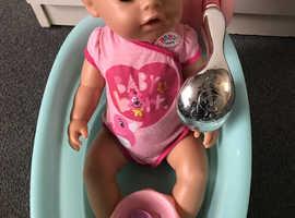 Baby born and baby born bath