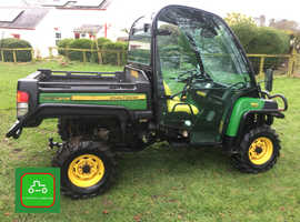 JOHN DEERE GATOR 855d 2017 FULL CAB P/STEERING LO HRS SEE VIDEO CAN DELIVER