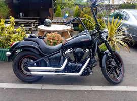 Kawasaki vn900 custom 2012