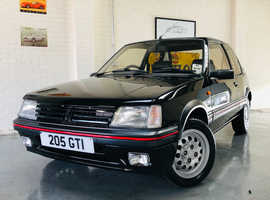 PEUGEOT 205 1.6 GTI - 2 OWNERS - RESTORED CAR - STUNNING!