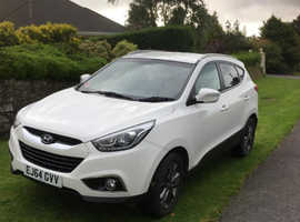 Hyundai Ix35, 2014 (64) White Estate, Manual Diesel, 60,546 miles