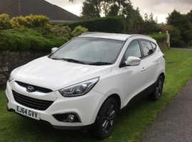 Hyundai Ix35, 2014 (64) white estate, Manual Diesel, 60,000 miles