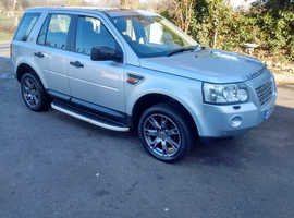 2008 Land Rover Freelander 2.2 TD4 SE SAT NAV SUNROOF LEATHER SIDE STEPS