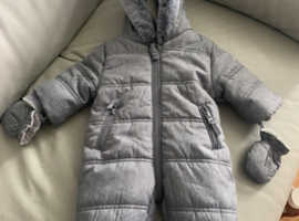 First size snow suit