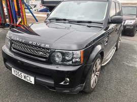 Land Rover Range Rover Sport, 2005 (55) Black Estate, Automatic Diesel, 124,000 miles