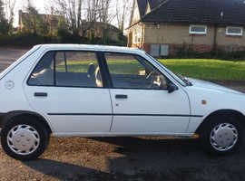 Peugeot 205, 1993 (K) White Hatchback, Automatic Petrol, 104,127 miles