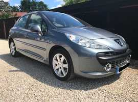 Peugeot 207, 2008 (08) Grey Hatchback, Manual Petrol, 55,500 miles