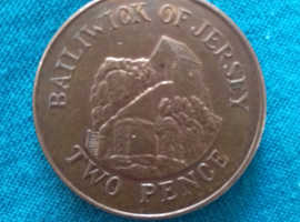 The Rarest And Unique Coin Two Pence-Bailiwick Of Jersey- 2016