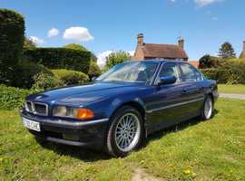 BMW 7 Series, 1998 (S) Blue Saloon, Automatic Petrol, 157,600 miles