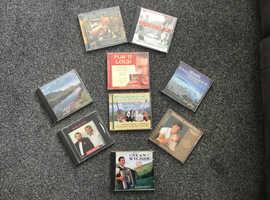 11 Irish/Celtic cd's