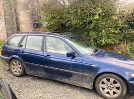 BMW 3 Series, 2003 (53) Blue Estate, Manual Diesel, 148,000 miles