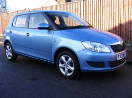 Skoda Fabia 2013 (13) Blue Hatchback, Manual Petrol, 69,000 miles