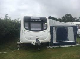 Twin axcel sterling searcher caravan  2011