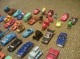 Disney Cars diecast cars from the films  Cars 1 and Cars 2