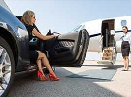 Travel in Luxurious Mercedes Benz to & fro from  the Airport - For  Booking call