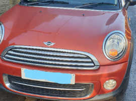 Mini MINI, 2010 (60) Orange Hatchback, Manual Diesel, 117,500 miles Spares or repair