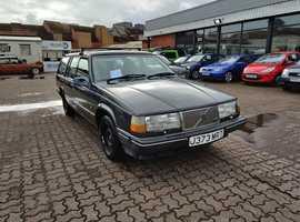 Volvo 940 GL, 1992 (J) Grey Estate, Manual Petrol, 199,109 miles