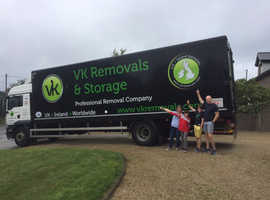 VK Removals & Storage - Weekly removals service Ireland & UK