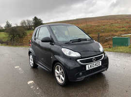 Smart Fortwo Coupe, 2013 (13) Black Coupe, Automatic Petrol, 35,000 miles