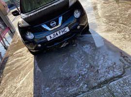 Nissan Juke, 2014 (14) Black Hatchback, Manual Diesel, 73,000 miles