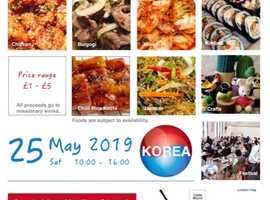 KOREAN FOOD EVENT on 25 May 2019